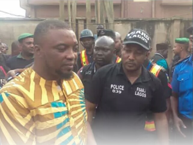 police arrests high priest who is responsible for all the killing in ikorodu, destroys shrine.