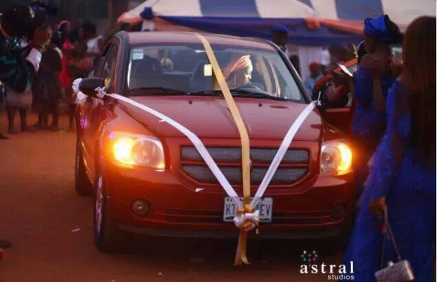 Man Gifts His Bride A Brand New Car At Their Traditional Wedding In Anambra