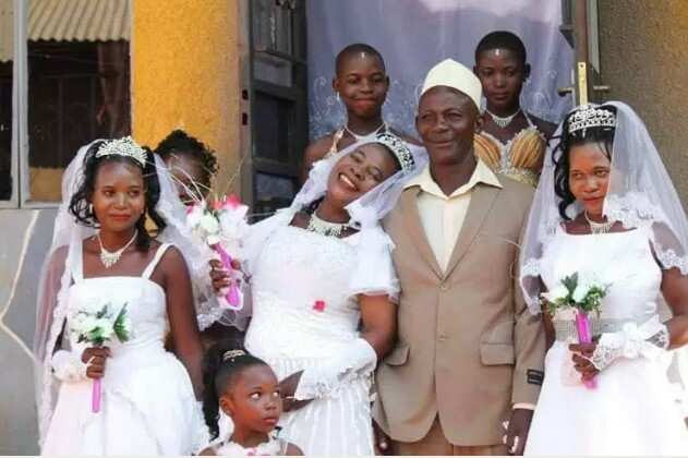 Man marries three women at once to save money