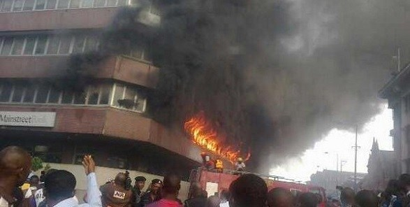 Video: Landlord Burns Down His Own House After His Tenants Refused To Pay Rent In Edo State