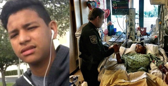 Florida School Shooting: Teenager Takes Five Bullets For His Classmates