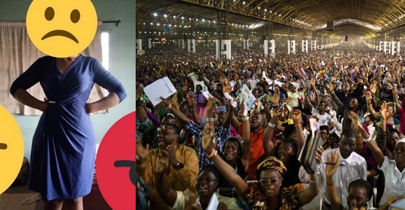 """RCCG worker disgraced and sent back home for wearing an """"inappropriate"""" dress to church today"""