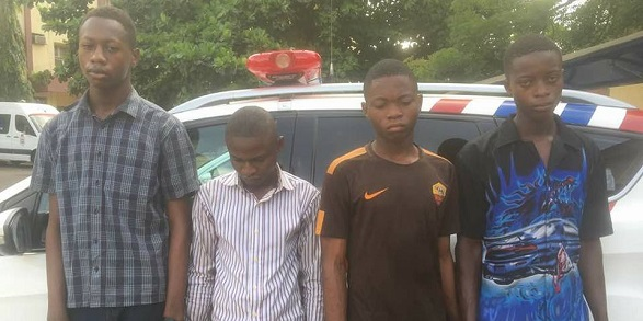 Four boys who sold leaked WAEC exam questions arrested