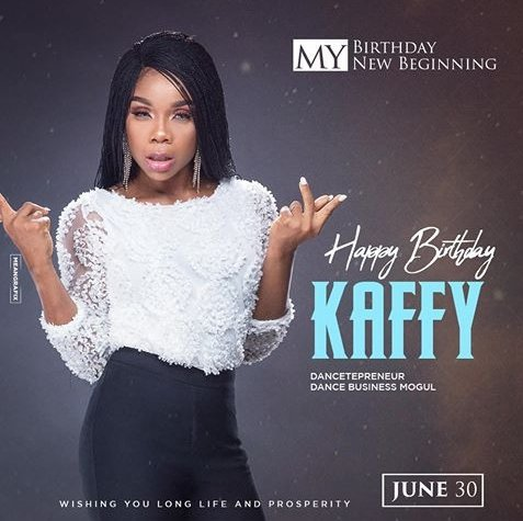 Dancer Kaffy Celebrates her birthday with Cleavage baring photos
