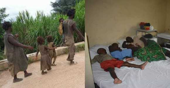 Government rehabilitate family of 5 battling mental illness in Cross River State (Photos)