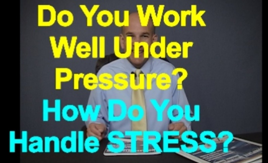 how well do you work under pressure