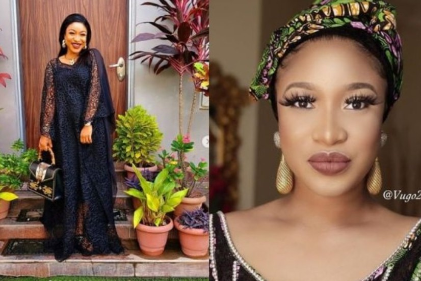 Tonto Dikeh reveals why she hated Olakunle Churchill's mother