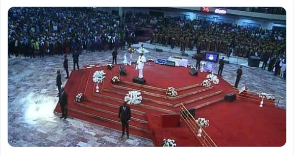 Bishop Oyedepo's 9 'Bodyguards' At Shiloh 2019 Sparks Controversy Online