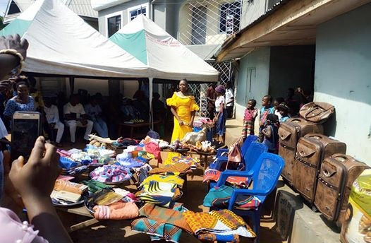 Photos of the items a groom was made to buy during a bride price ceremony in Enugu State
