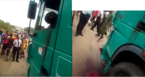 Graphic: Police officer allegedly shoots truck driver dead over N100 bribe in Ondo