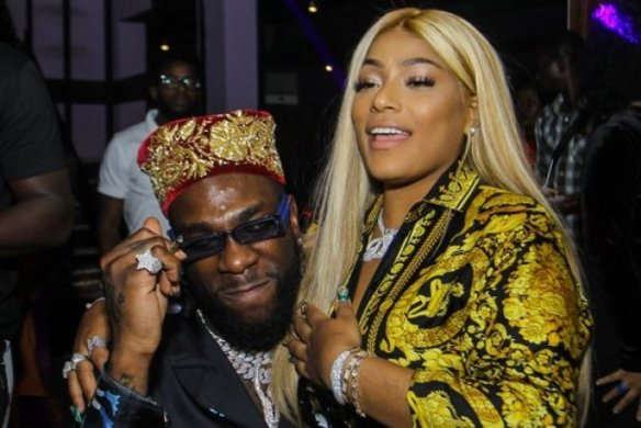 """We f**ked last night"" – Stefflon Don replies Nigerian who asked if she and Burna Boy are still together!"