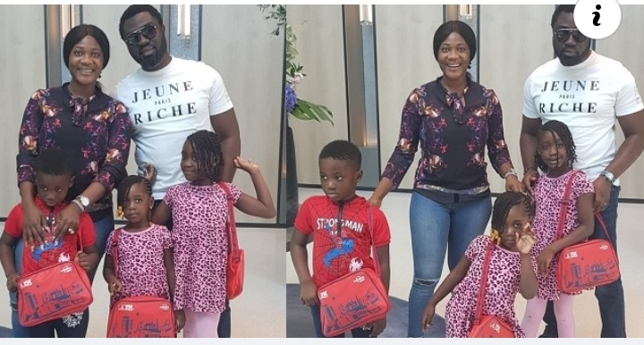 Beautiful photos of Mercy Johnson and her husband and their children