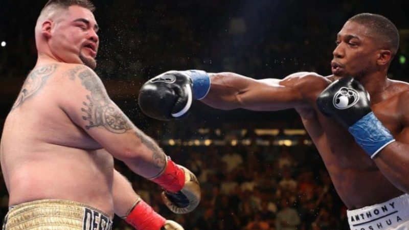 Andy Ruiz blames 'three months of partying' and 'his weight' after he was defeated by Anthony Joshua in Saudi Arabia (video)