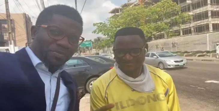 Commercial bike rider returns a missing iPhone 11 in Lagos (video)