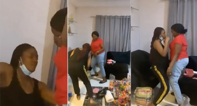 Simi teaches her mother how to dance (video)