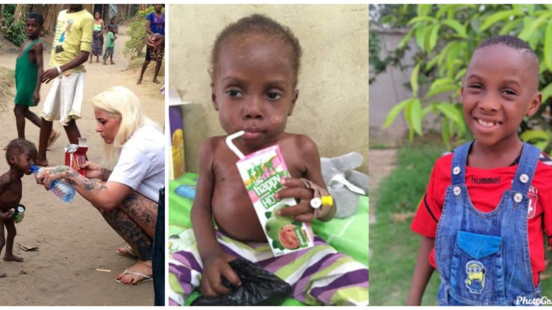 Danish aid worker, Anja Ringgren Lovén marks 4 years since the rescue of child branded a witch in Akwa Ibom