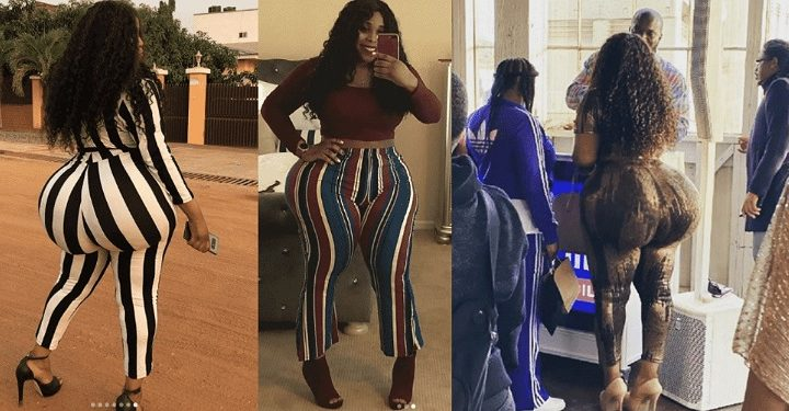 Yearn for my brain not my huge butt – Lady whose big butt caused commotion at airport tells female admirers