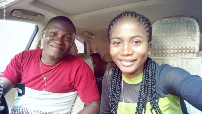 """I am ready to breastfeed you till the world ends"" – Nigerian lady celebrates her boyfriend"