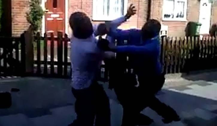 Two men cheating with each other's wives allegedly fight in a Mosque