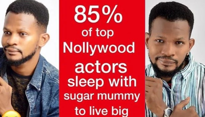 "Nollywood actors sleep with sugar mummy to live big"" – Uche Maduagwu"