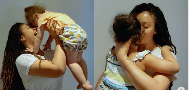 Nothing beats being a mother – Actress, Nadia Buari shares beautiful photos with her four children to celebrate Valentine's Day.