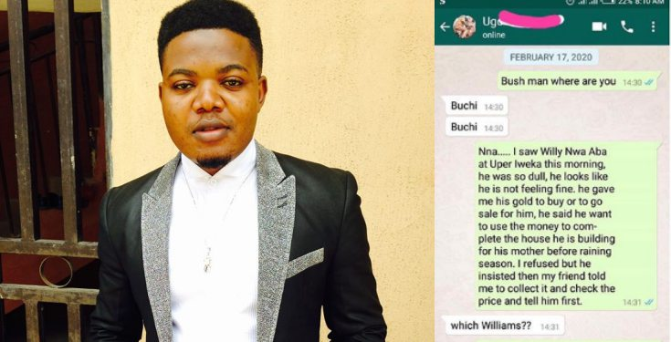 Nigerian man narrates how he ran into a friend who he never knew had died