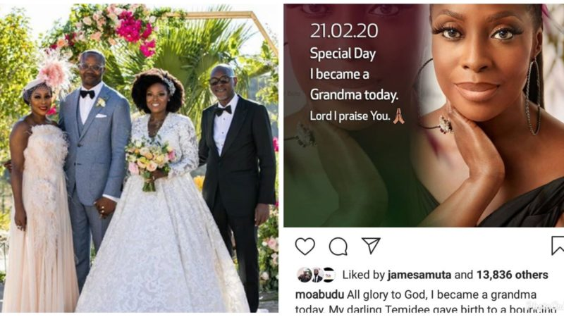 Mo Abudu becomes a grandmother as her daughter welcomes first child, a baby boy