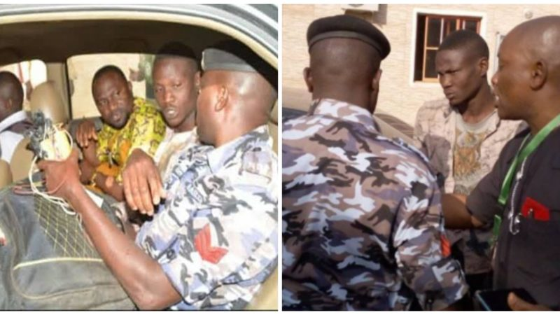 Suspected suicide bomber apprehended at Bishop Oyedepo's church in Kaduna (photos)