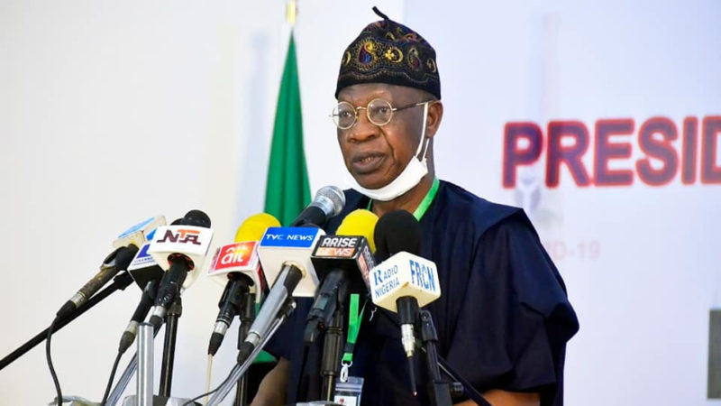 Lai Mohammed debunks rumor that medical kits donated by Chinese billionaire Jack Ma have been infected with COVID-19