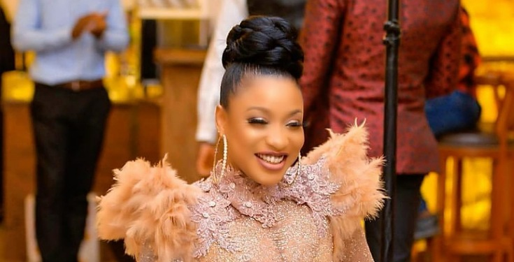 COVID-19 Donations: Tonto Dikeh calls on people selling foodstuff, says she wants to buy 100 bags of rice for charity