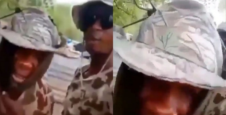 Soldiers threaten to rape mothers, wives and daughters of warri youths who attacked their colleagues (video)
