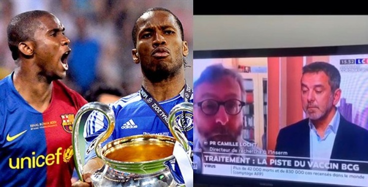 Africa is not a testing lab – Didier Drogba and Samuel Eto'o slam French Doctors who asked for new Coronavirus drug to be tested in Africa