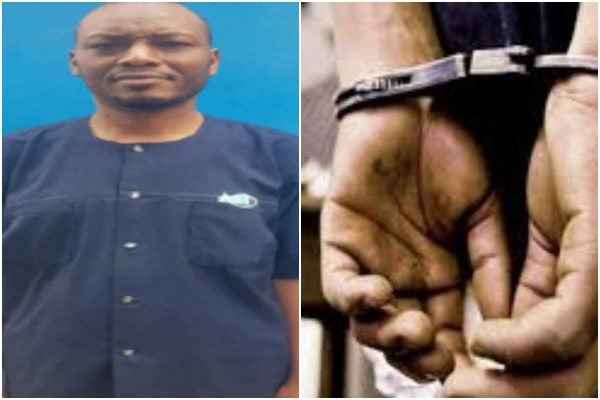 Pharmacist with the National Hospital Abuja arrested for allegedly sodomizing 12 year old boy (photo)